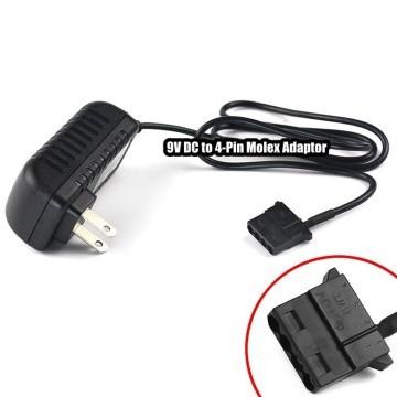 9V DC to 4-Pin Molex Adaptor (100-240VAC)