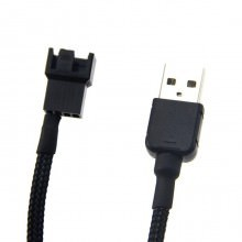 USB to Fan 3-Pin/4-Pin Adaptor Cable (90cm)