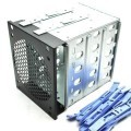 5-in-3 Device Module Hard Disk Cage SAS/SATA Expander Enclosure
