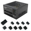 Seasonic Platinum Fanless Series 400W/460W/520W Modular Connector (Full Set 10pcs)