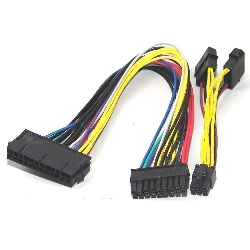 HP Z600 PSU Main Power 24-Pin to 18-Pin Adapter Cable (30cm ...
