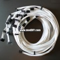 Corsair Power Supply Custom Single Sleeved Modular Cables (All White)