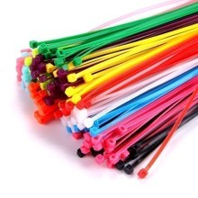 High Quality 200mm x 4mm Multi-Color Tie Wraps (15 Pack)