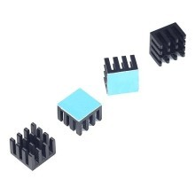 3M-8810 Aavid Thermalloy Premium Black Heat Sink (14mm x 14mm x 10mm)