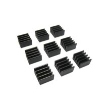 Black Micro Passive Heatsink MOSFET Chipsink (8.8mm)