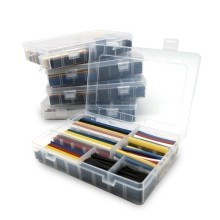 Premium Multi-Size Multi-Color Heatshrink Box Set (5-Color, 7-Size)