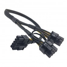 Lenovo ThinkServer RD450 10 Pin to 8 Pin and 6 Pin GPU PCIE Power Cable