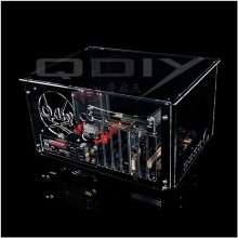 QDIY Professional Modder Acrylic Case Back Panel (PC-D008-B)