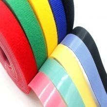 Multi-Color Flexible Reusable Velcro Cable Ties (Custom Length)