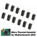 Micro Thermal Heatsink for Motherboard's MOS (6.5mm x 12mm)