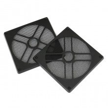 Easy Installation Magnetized 12cm 120mm Dust Reduction Fan Filter