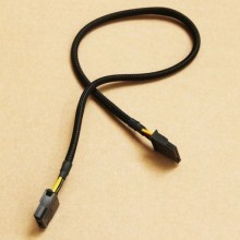 4-Pin Molex Female to 15-Pin SATA Female Cable (45cm)