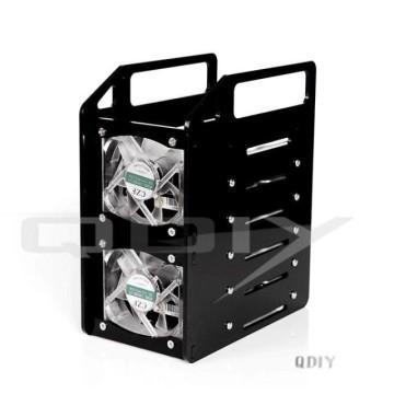 QDIY Professional Modder Acrylic 6-Bay HDD Rack Tray (Y6F)