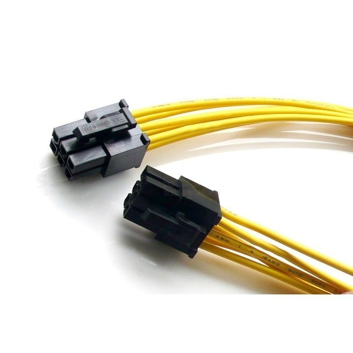 6-Pin PSU Modular Power Cable to PCI-E (30cm) - modDIY.com