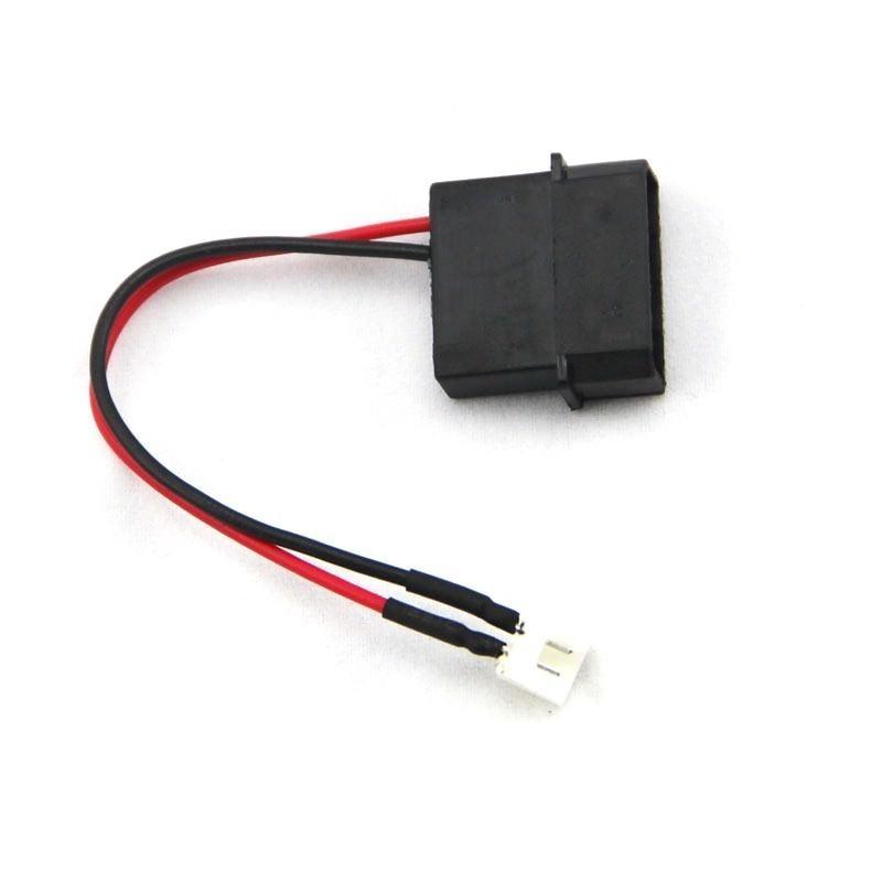 4-Pin Molex Connector (Male) to 2-Pin GPU Mini Fan Connector (Male ...