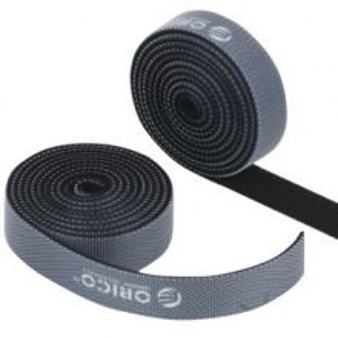 Orico Pro Velcro Cable Tie Roll - 1.5cm x 100cm (Black)