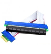 PCI-Express PCI-E x1 to x16 Extension Cable Riser (19cm)