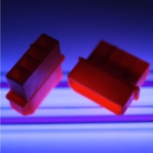 Standard 4-Pin Male Connector w/ Pins (UV Red)