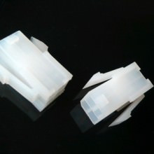 4-Pin Motherboard Power Male Connector - Transparent White