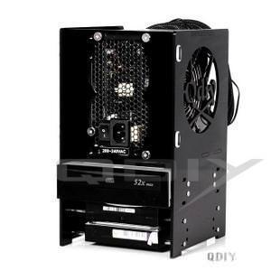 QDIY Professional Modder Acrylic PSU/HDD/DVD Rack Tray (YJ-GY121)