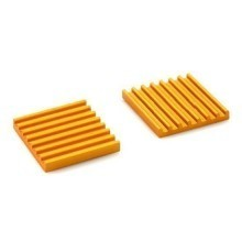High Performance Ultra-Thin 22mm x 3mm Heatsink (Gold)