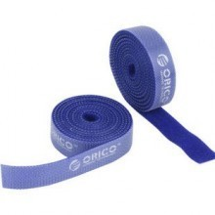 Orico Pro Velcro Cable Tie Roll - 1.5cm x 100cm (Blue)