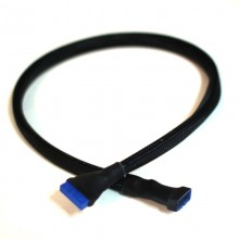 High Quality Sleeved USB 3.0 19-Pin Internal Header Extension Cable