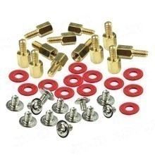 Motherboard Standoffs / Screws / Washers Kit (36 Pieces)