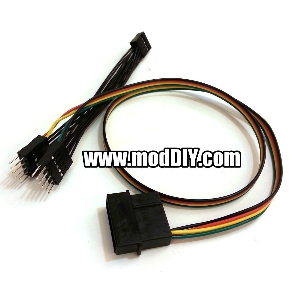 9 Pin Usb Internal Header Y Splitter Cable Molex Powered 5cm 20 Wiring Product Description