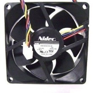 Nidec Ultra Silent 8025 12V 0.38A 80mm PWM Cooling Fan L80T12NS1A7-57