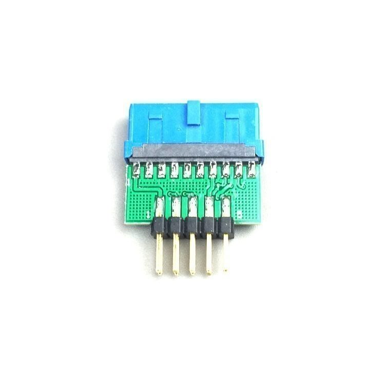 USB 3.0 20-Pin Female to USB 2.0 10-Pin Make Internal Header Converter