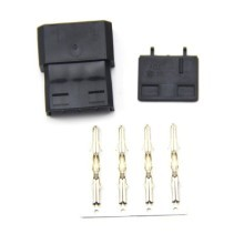 Standard 4-Pin Molex Connector with Pins (Male/Female Integrated)
