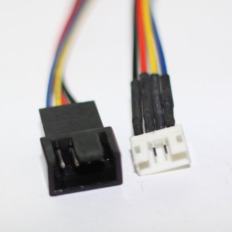 Mini 4 Pin Gpu Female To Mini 4 Pin Gpu Male 4 Pin