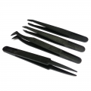 ESD Safe Anti-Static Precision Tweezers (4 Styles)
