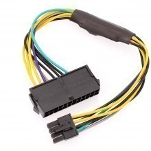 Dell OptiPlex 3020 PSU Main Power 24-Pin to 8-Pin Adapter Cable (30cm)