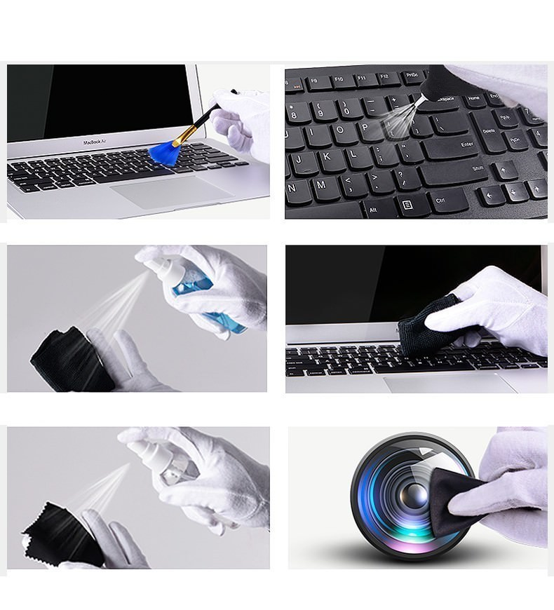 Professional Computer PC Notebook Laptop Phone Cleaning Kit Bundle