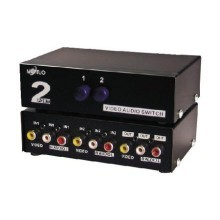 Maituo 2 Port AV Video Audio Splitter (MT-231AV)
