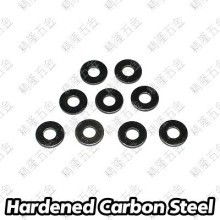 M4 Countersunk Washer - Black Carbon Steel