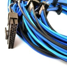 Seasonic Focus Plus Single Sleeved Modular Cable Set (BlackBlue)