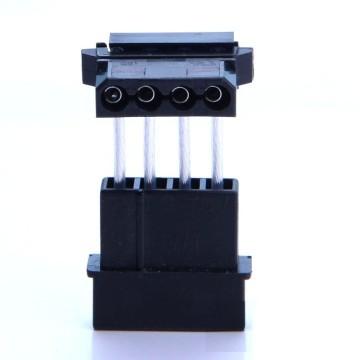 4-Pin Molex to 90 Degree 4-Pin Molex Power Adapter