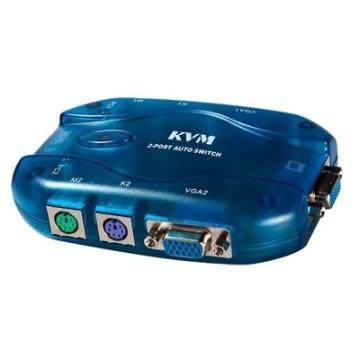 Maituo Auto PS/2 VGA KVM 2 Port Switch (MT-271S)