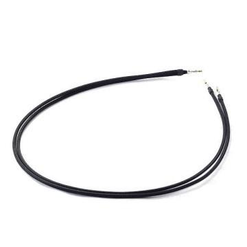 modDIY Pre-made 18AWG Sleeved Y Electrical Wire (Black)