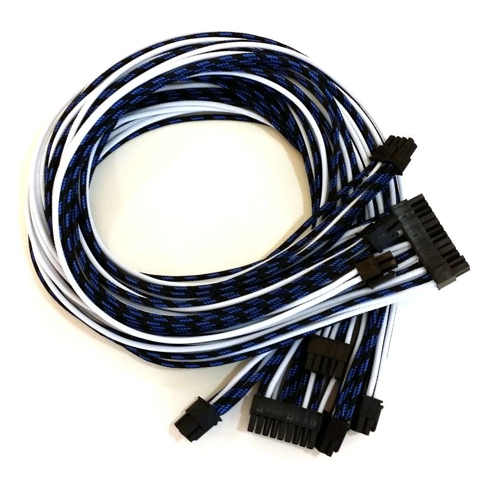 Corsair Ax860 Custom Single Sleeved Modular Cables Black