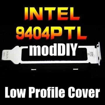Intel 9404PTL E1G44ET 82571 4-Port Low Profile Expansion Slot Cover