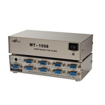 Maituo 150MHz 8 Port VGA Splitter (MT-1508)