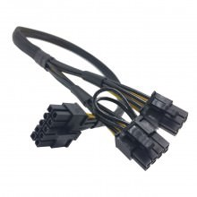 Lenovo ThinkServer TD350 10 Pin to 8 Pin and 6 Pin GPU PCIE Power Cable