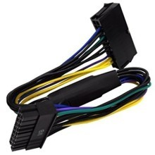 24 Pin to 20 Pin ATX Power Cable Adapter for HP Z200 Workstation 30cm