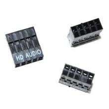 2.54mm Dupont 10-Pin HD Audio Female Connector