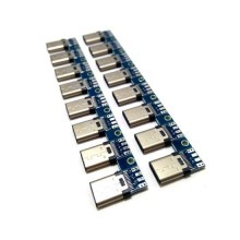 10Gbps USB 3.1 Type-C  USB-PD PCB Male Connector