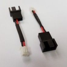 Fan 4-Pin PWM Connector Male to 2-Pin CB-32D Connector Female (5cm)